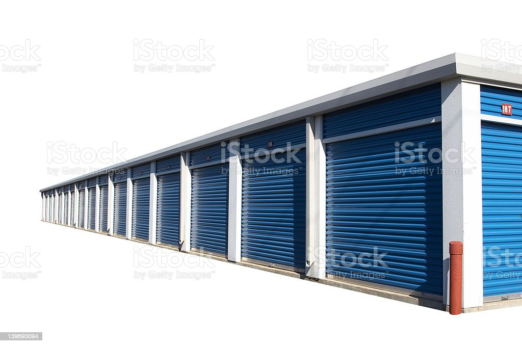 Storage Building royalty-free stock photo