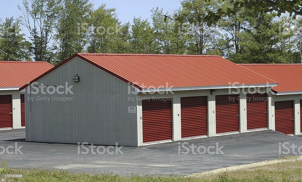 Storage building royalty-free stock photo