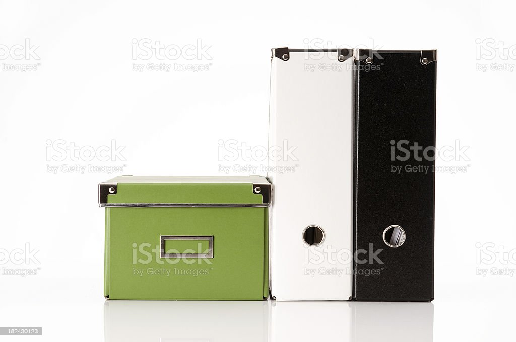 Storage Containers royalty-free stock photo