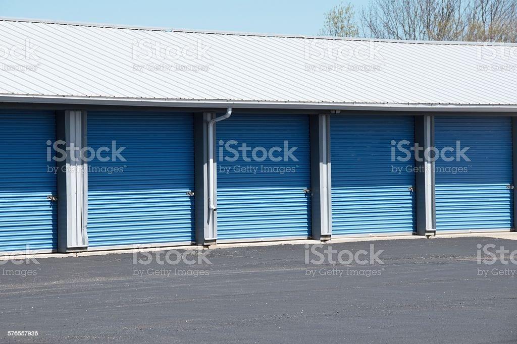 Storage Doors stock photo