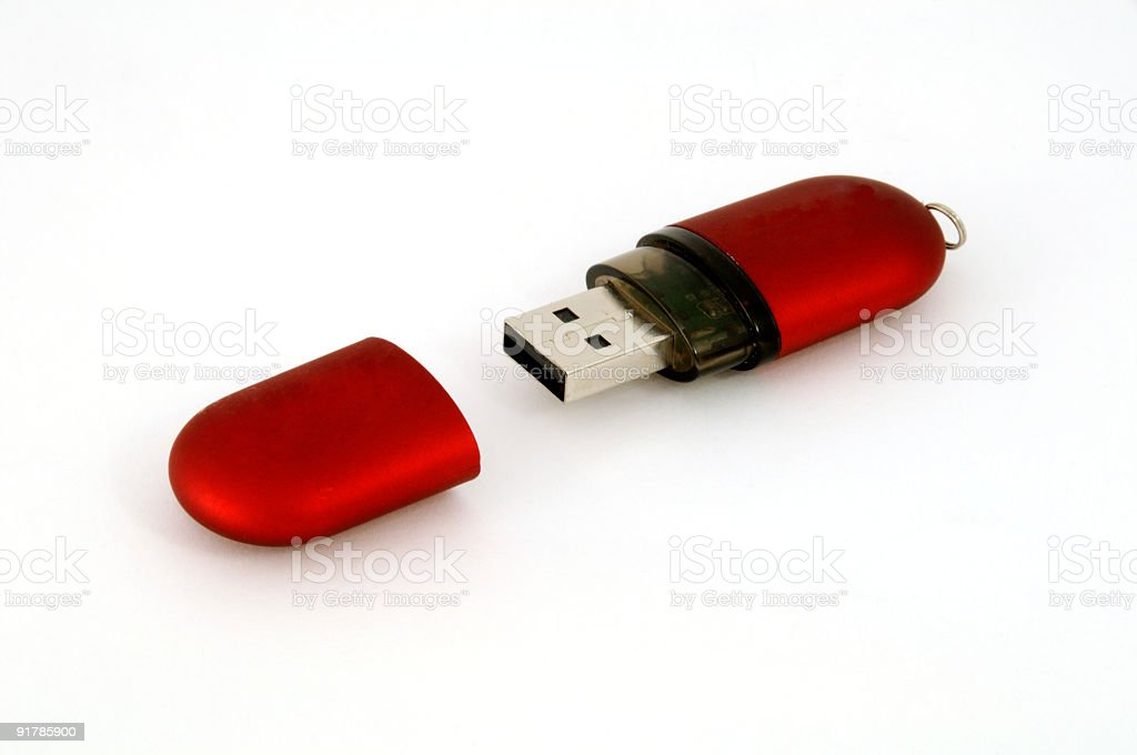 USB Storage Drive royalty-free stock photo