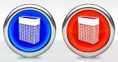 Storage Icon on Button with Metallic Rim