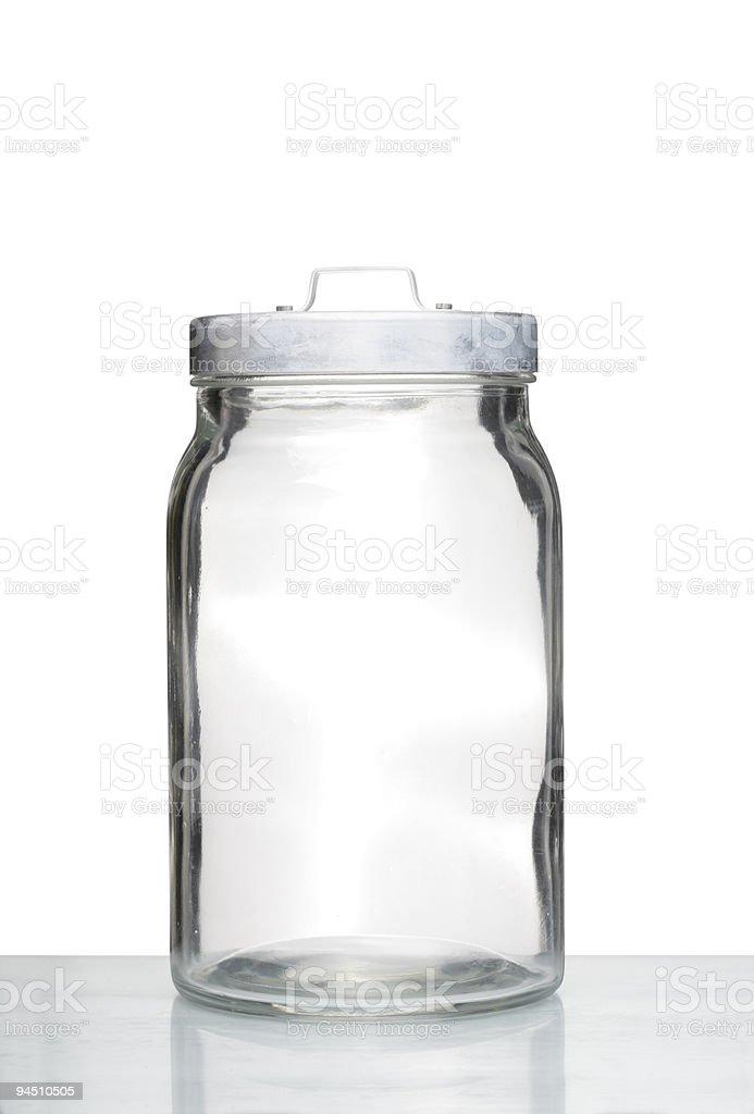 storage jar stock photo