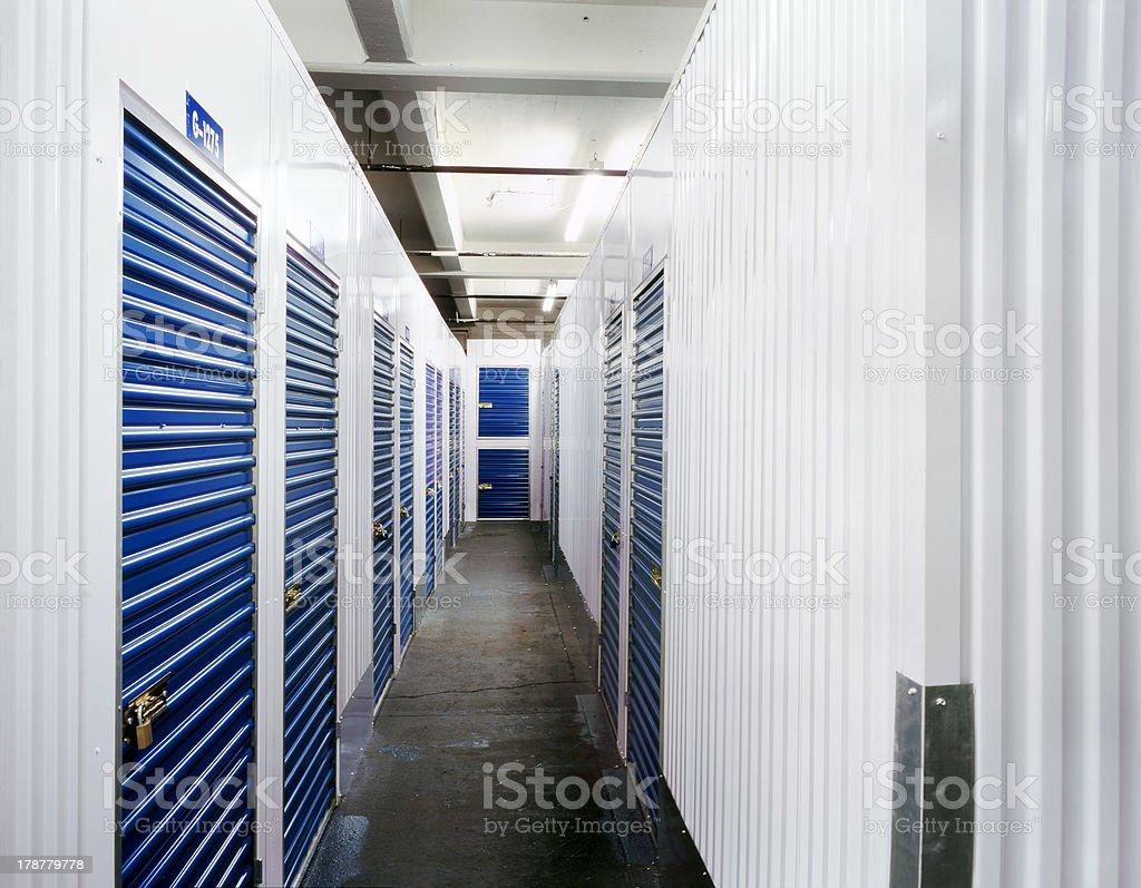 Storage Lockers royalty-free stock photo