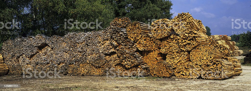 Storage di legno foto stock royalty-free