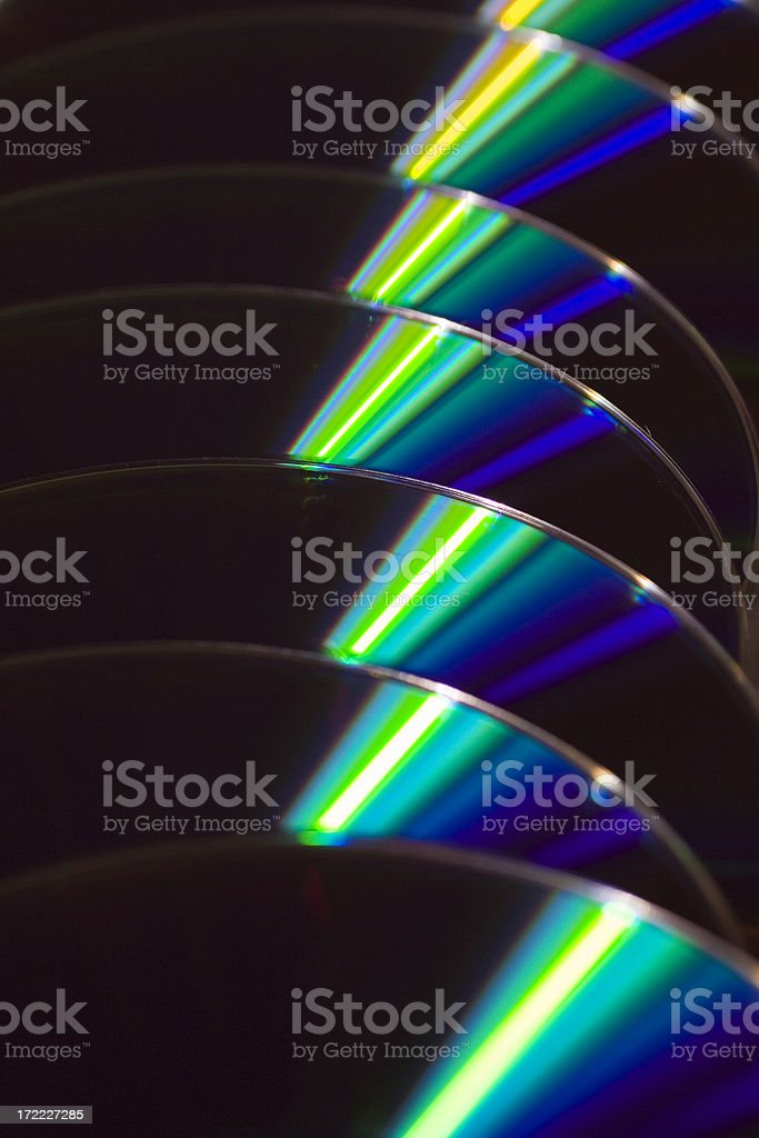 DVD storage royalty-free stock photo