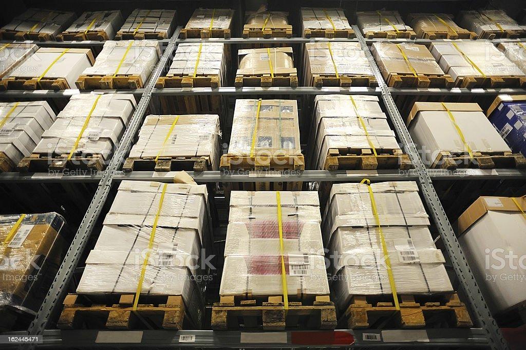 storage rack royalty-free stock photo