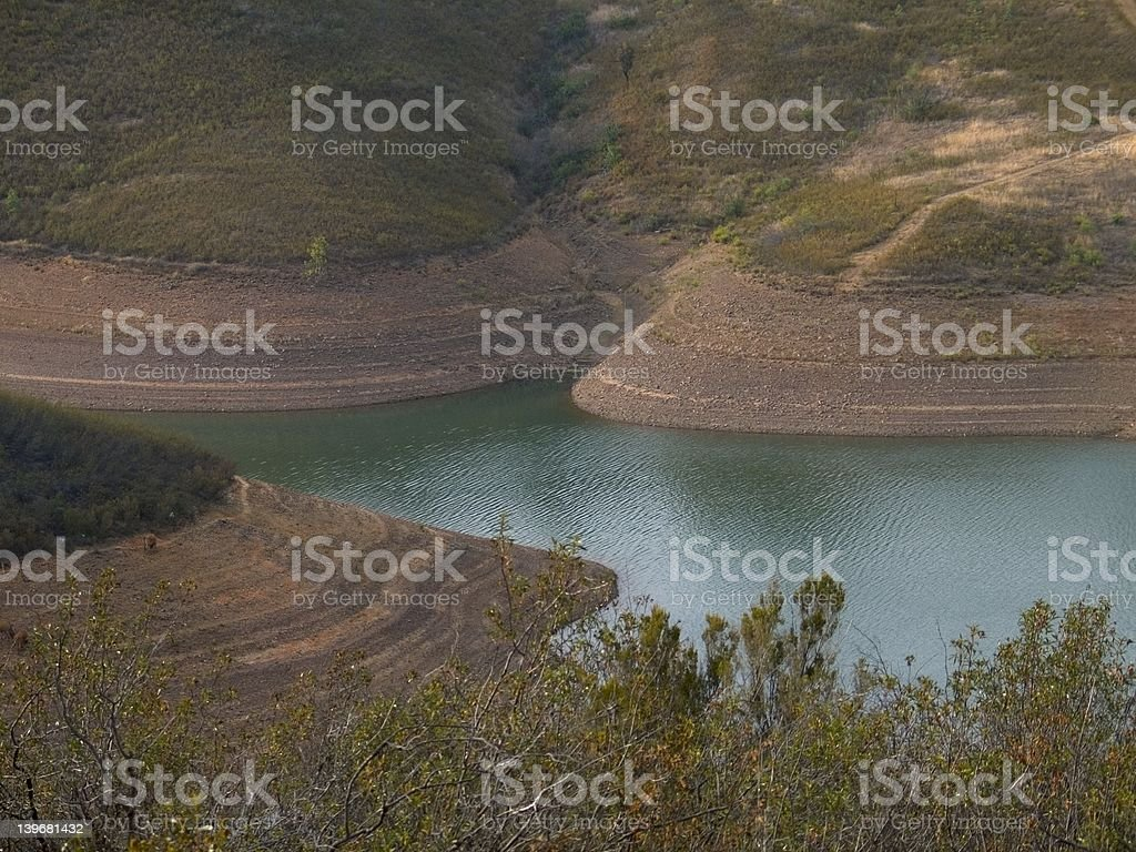 Storage reservoir royalty-free stock photo