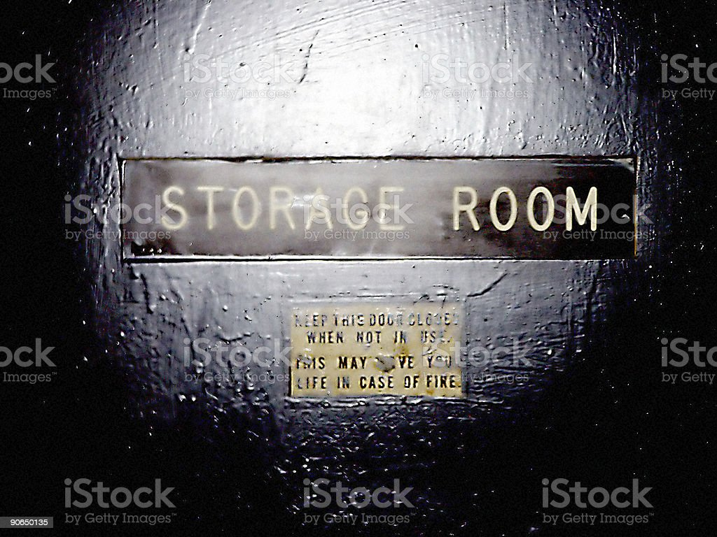 Storage Room royalty-free stock photo
