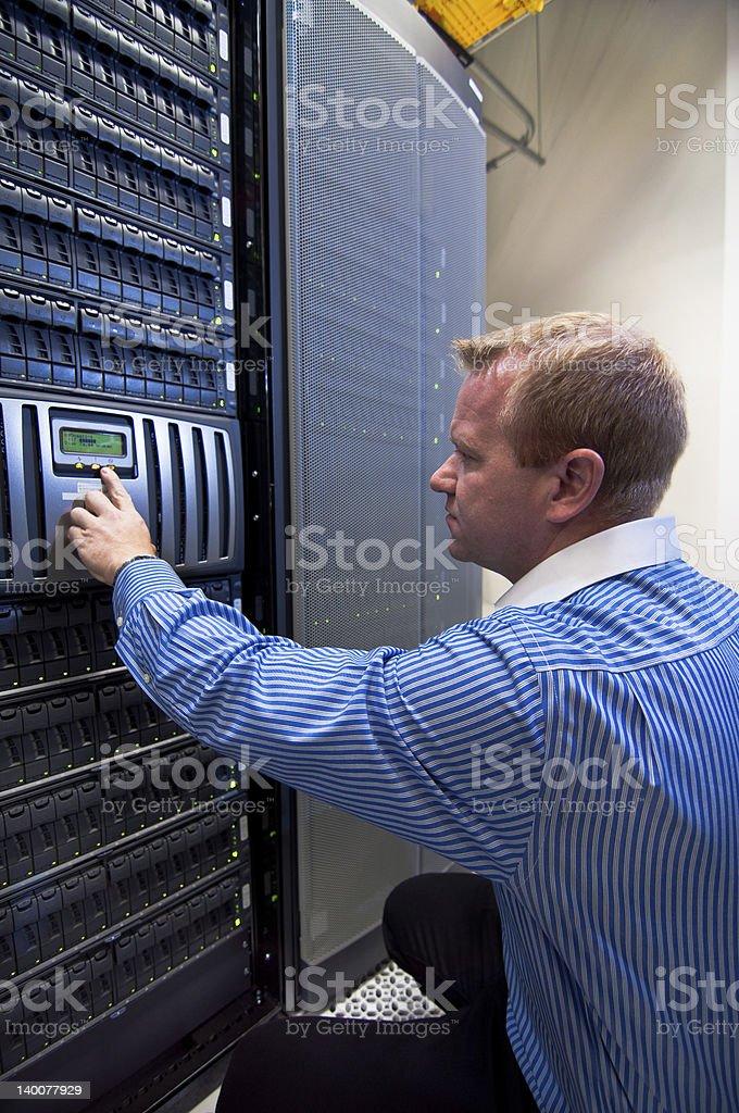 Storage Server SAN/NAS stock photo