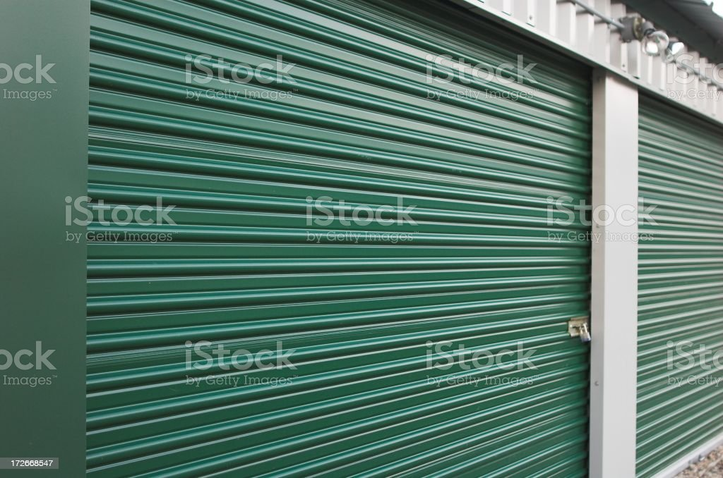 Storage unit royalty-free stock photo