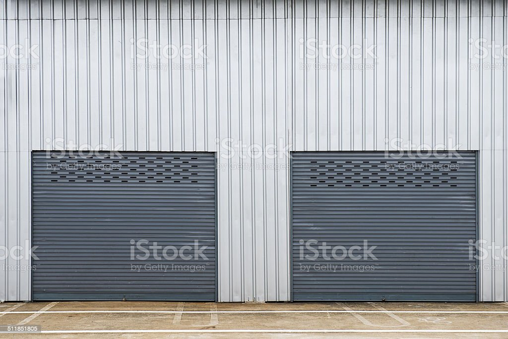Storage unit stock photo