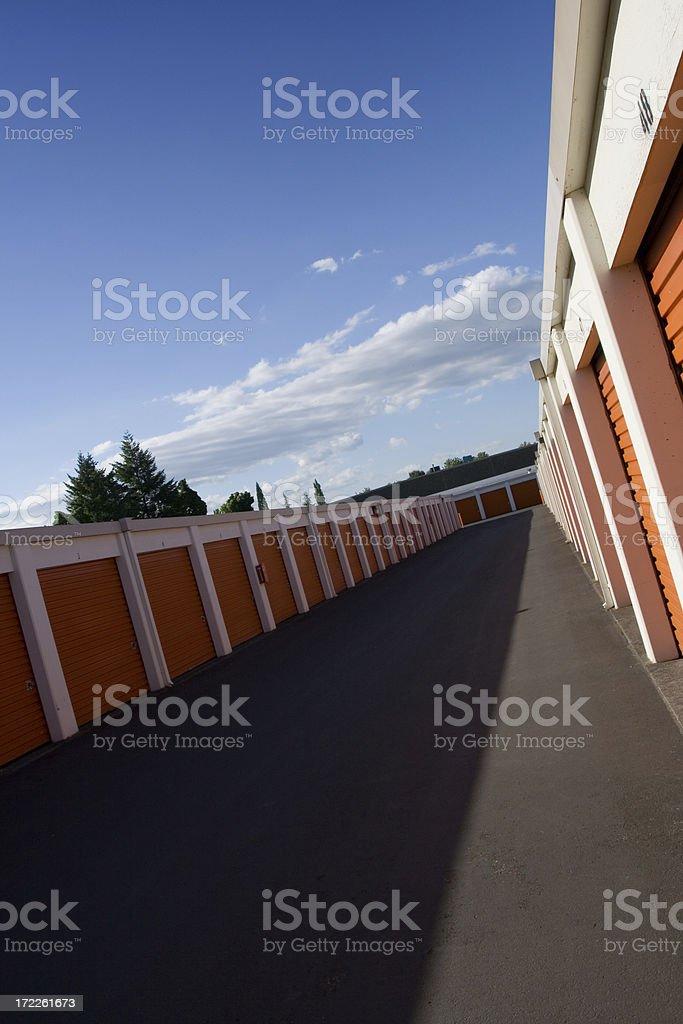 Storage Units royalty-free stock photo