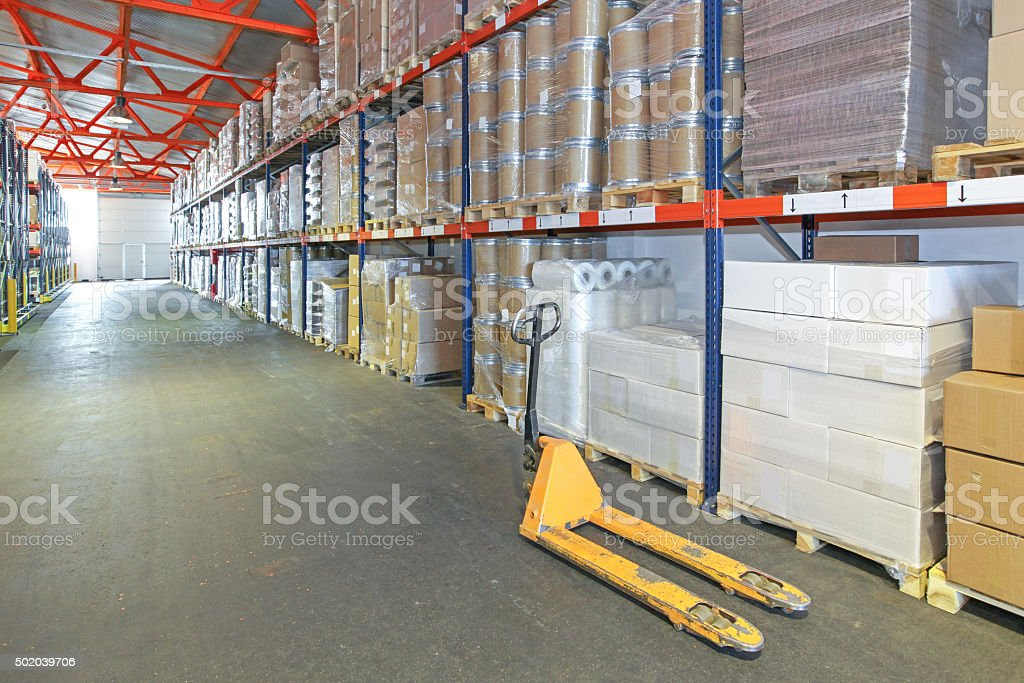 Storage Warehouse stock photo