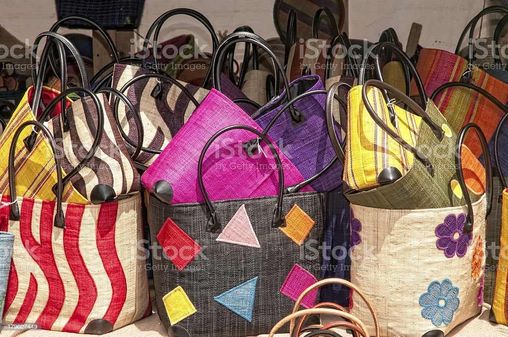 Store bags royalty-free stock photo