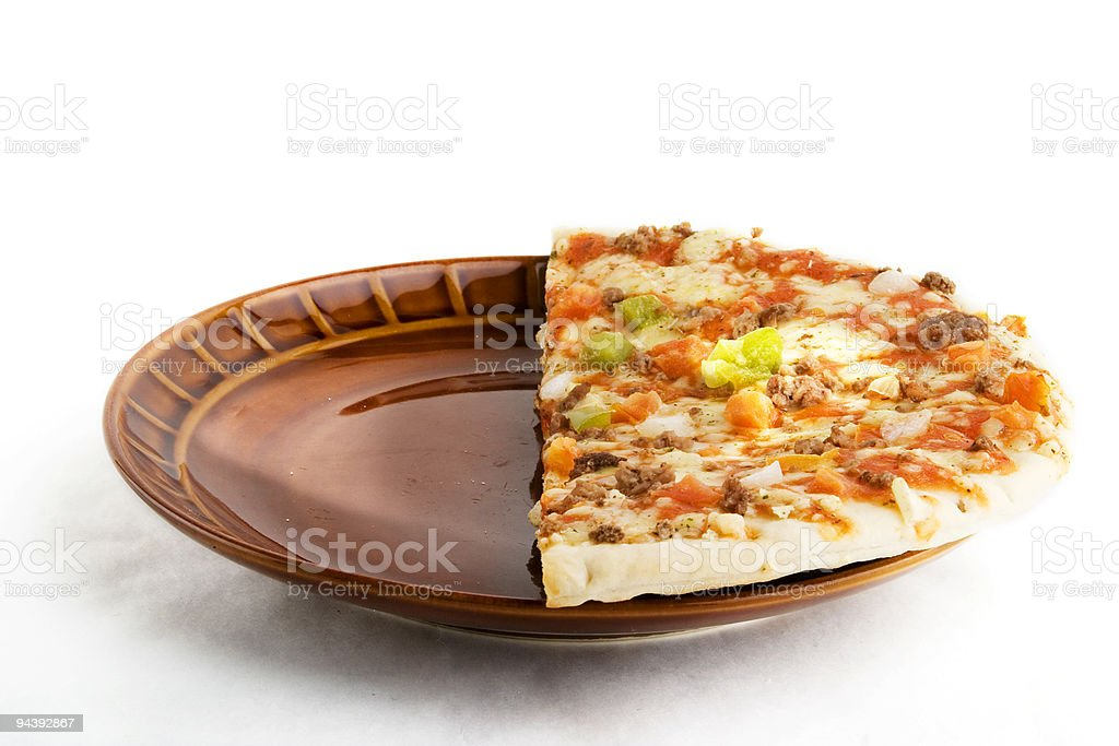 Store Bought Pizza royalty-free stock photo