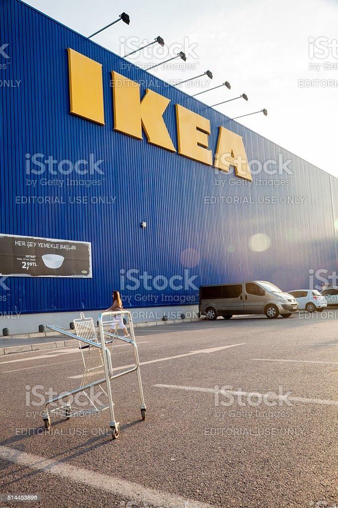 IKEA Store Building izmir Turkiye stock photo