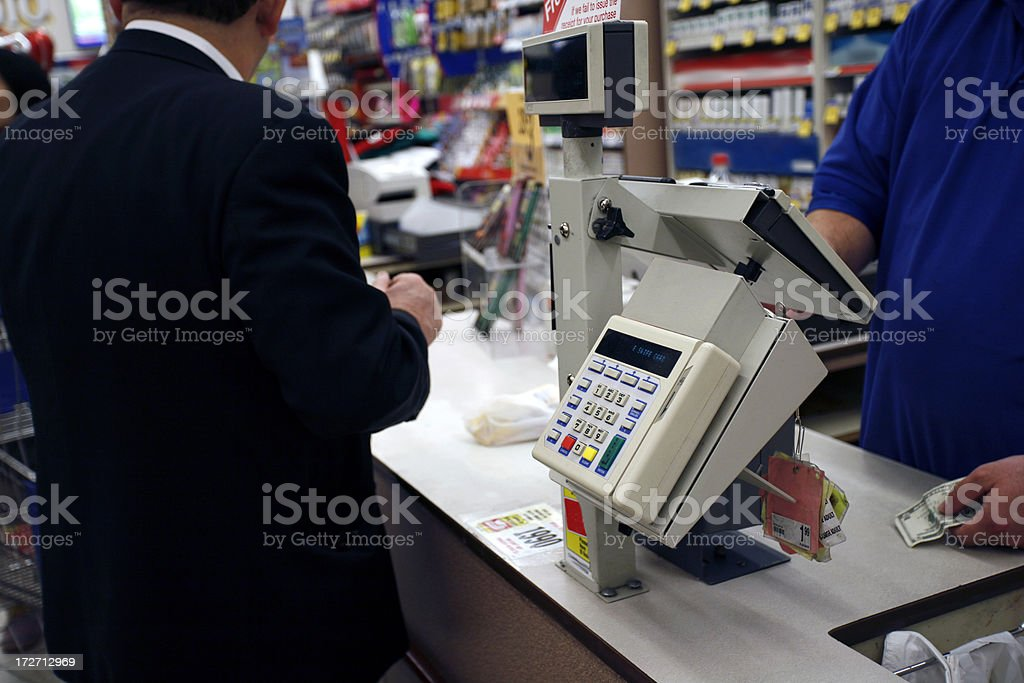 Store checkout 2 royalty-free stock photo