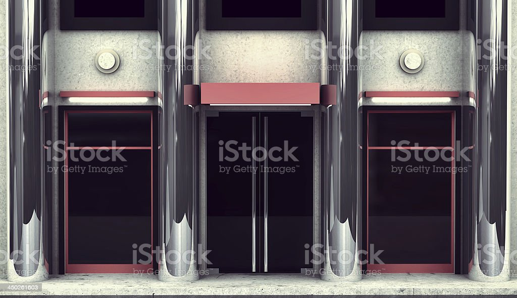 Store front royalty-free stock photo