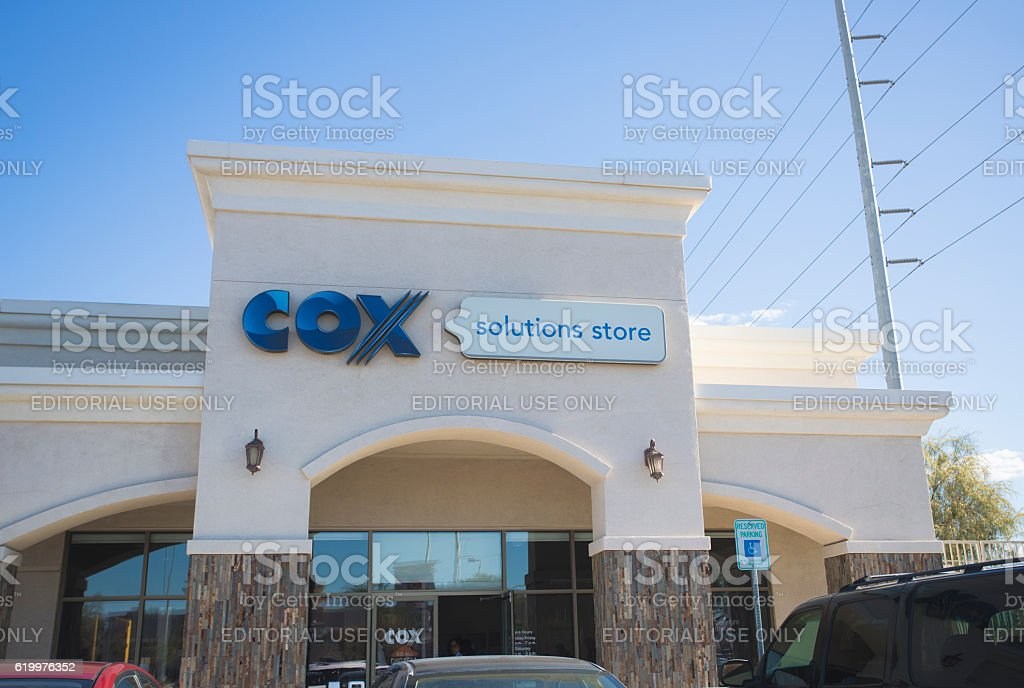 COX store front stock photo