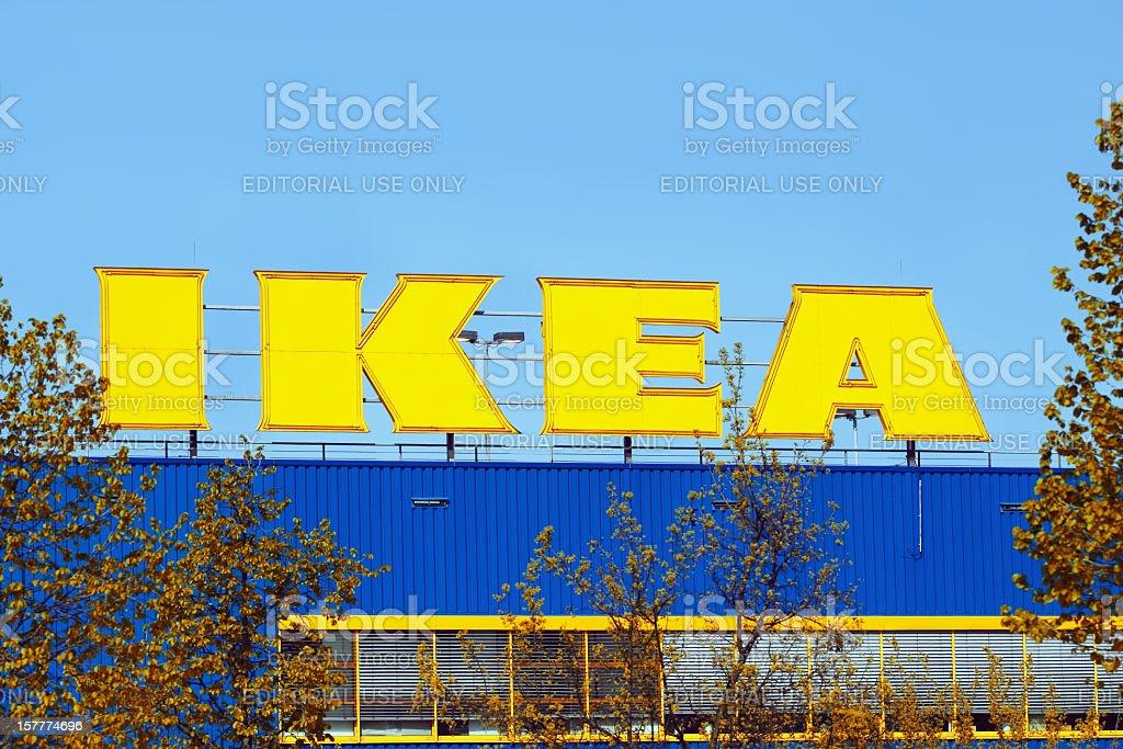 IKEA store in Essen stock photo