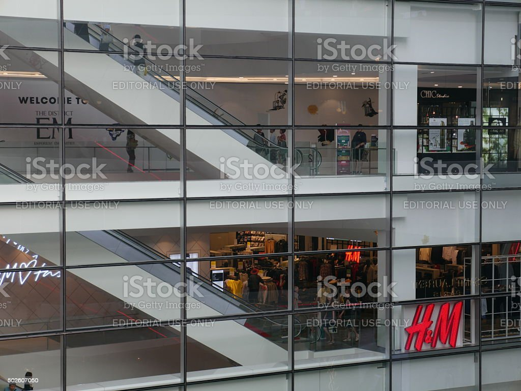 H&M Store in Thailand stock photo