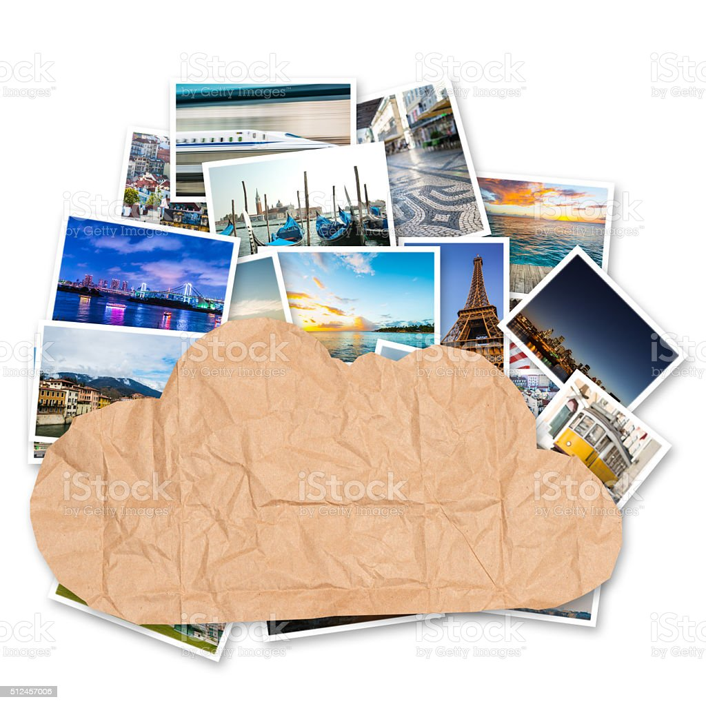 store or share your photos onlines stock photo