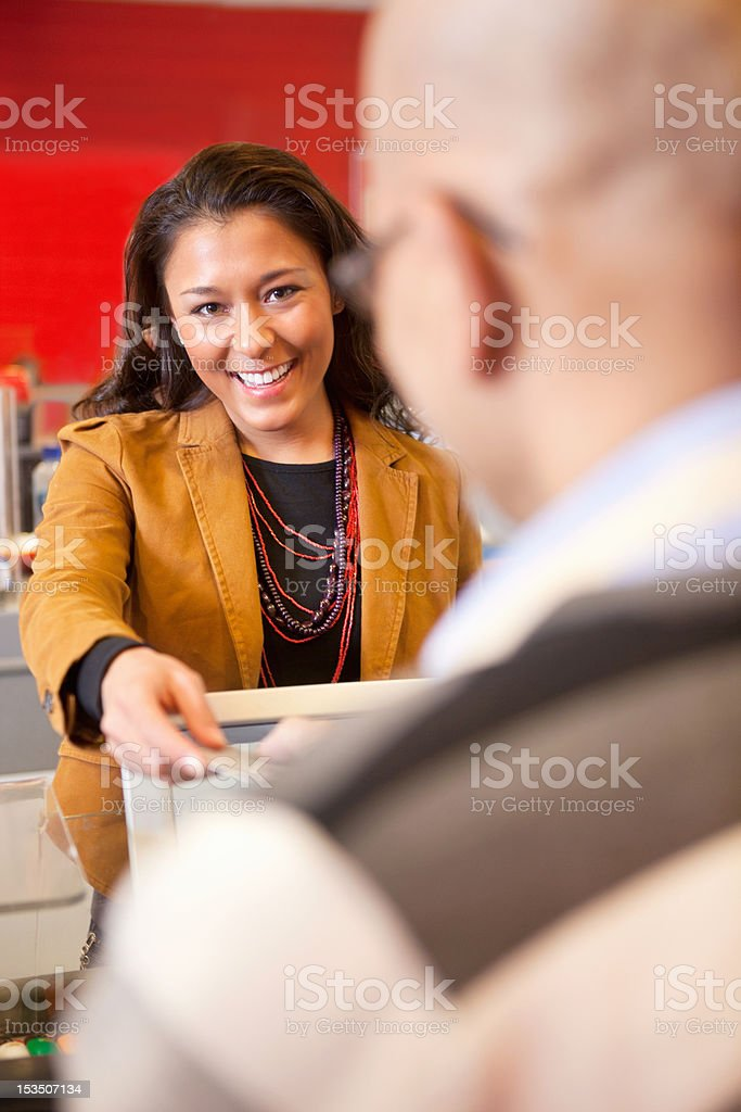 Store Pay Card royalty-free stock photo