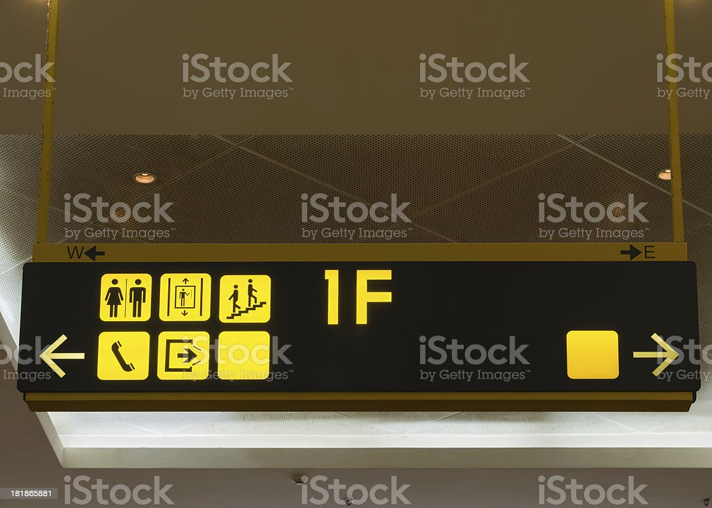 Store Sign royalty-free stock photo