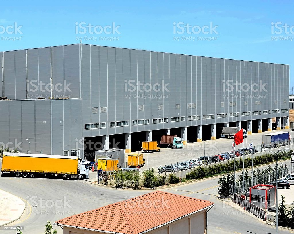 Store Supply Warehouse stock photo