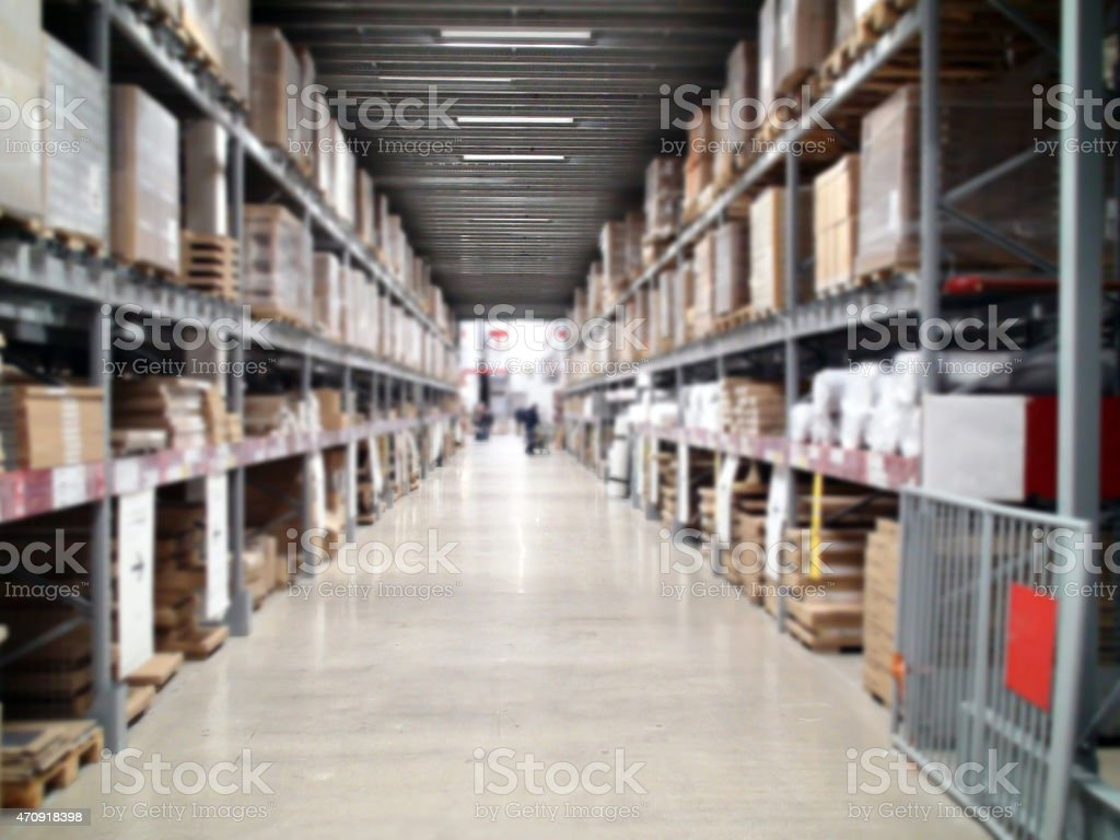 Store warehouse stock photo