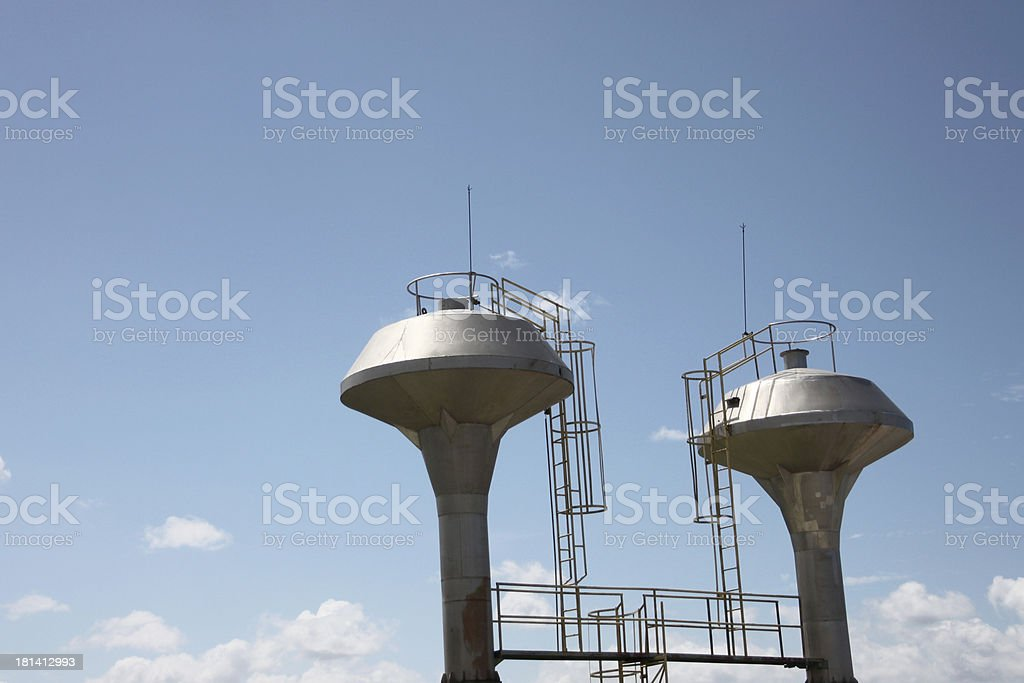 Stored water. royalty-free stock photo