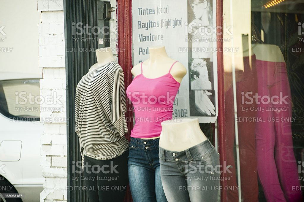 storefront sale royalty-free stock photo