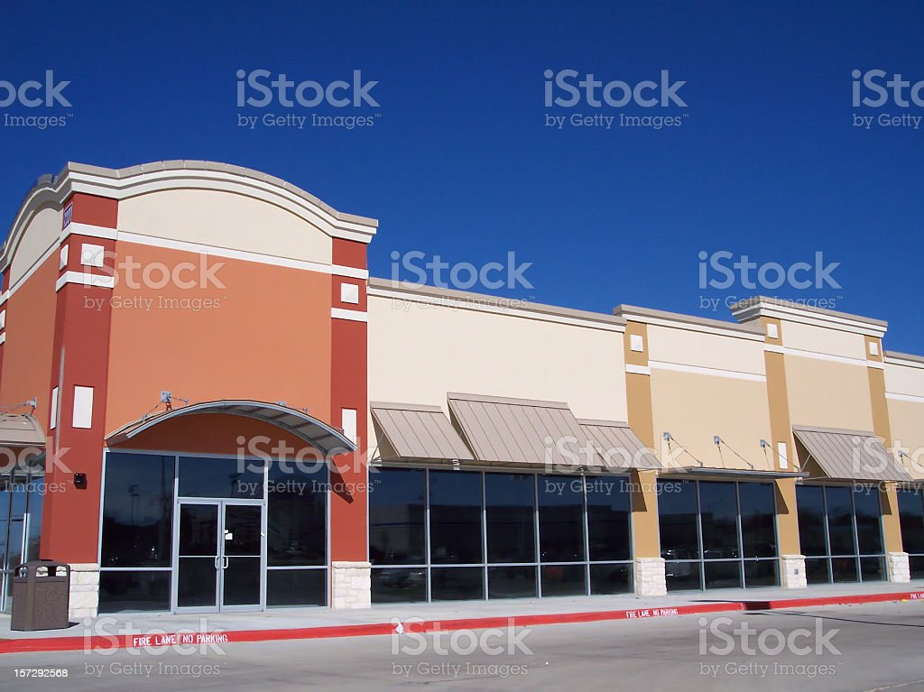 Storefronts royalty-free stock photo