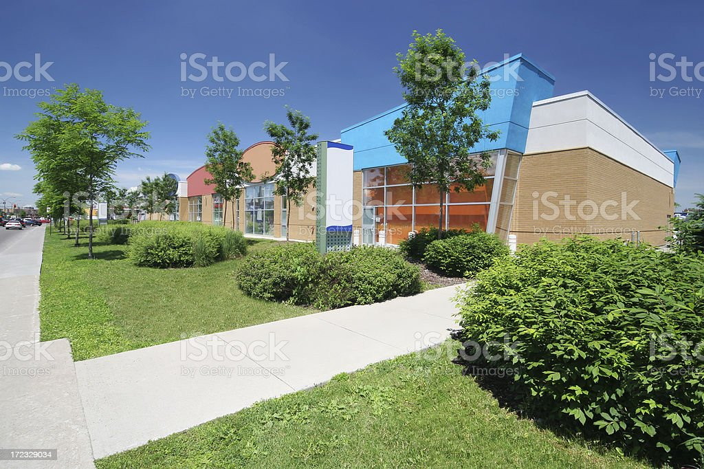 Stores Alley royalty-free stock photo
