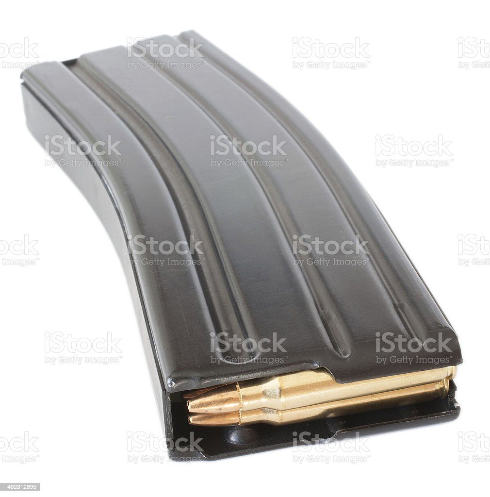 AR-15 magazine stock photo