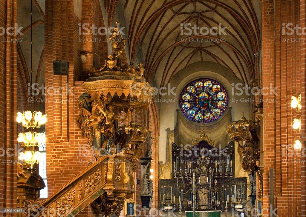 Storkyrkan (Church of St. Nicholas - The Great Church) stock photo