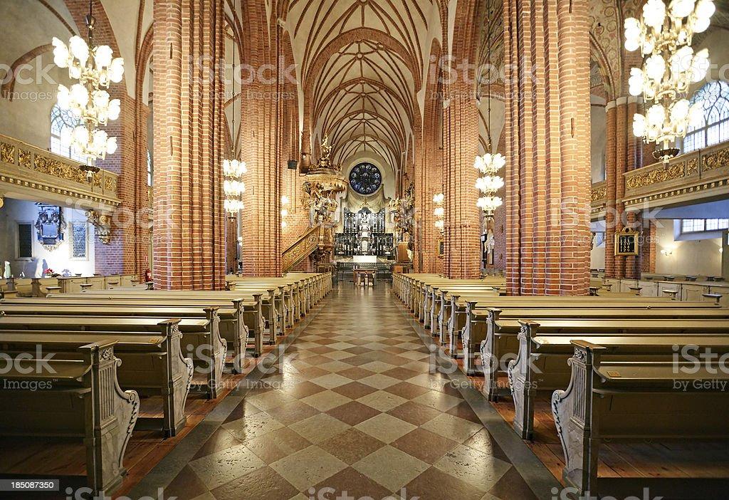 Storkyrkan, Stockholm stock photo