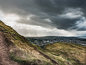 Storm Approaching Edinburgh