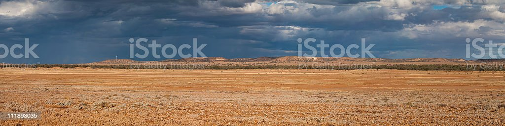 Storm approaching stock photo