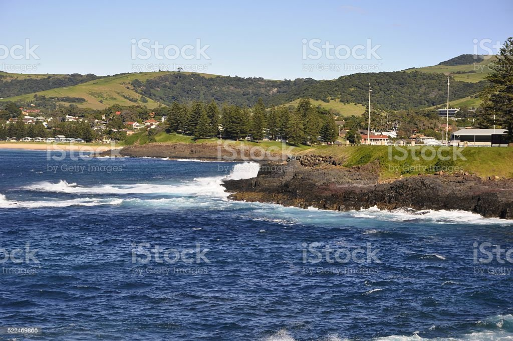 Storm bay, Kiama stock photo