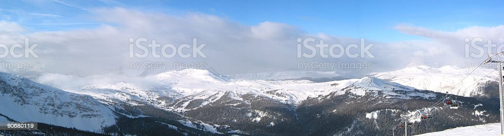 Storm Brewing in the Mountains royalty-free stock photo