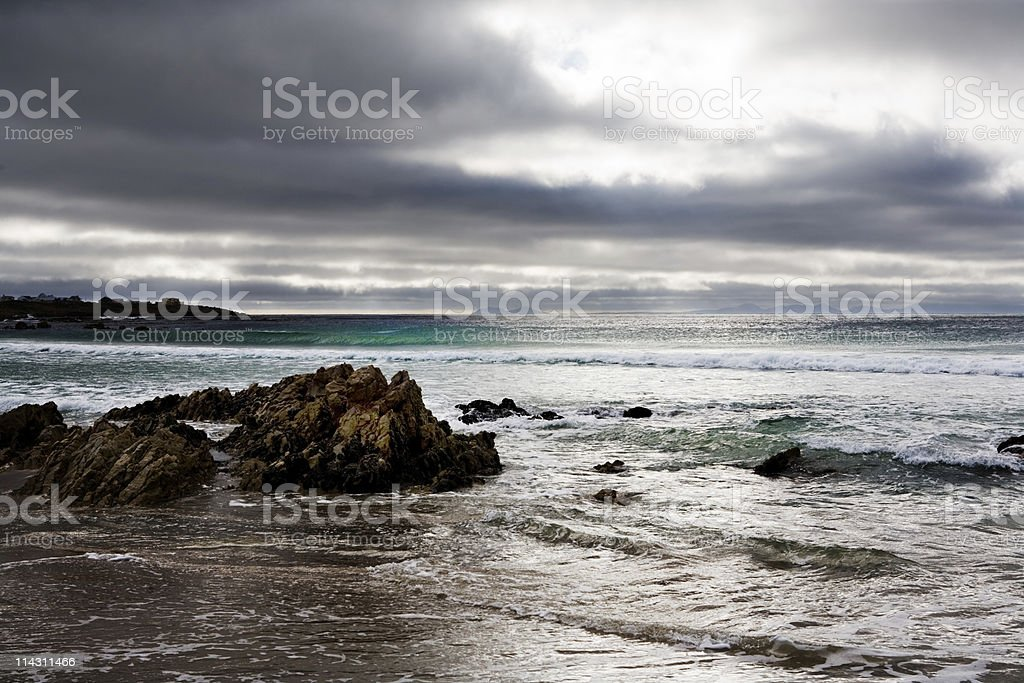 Storm brewing stock photo