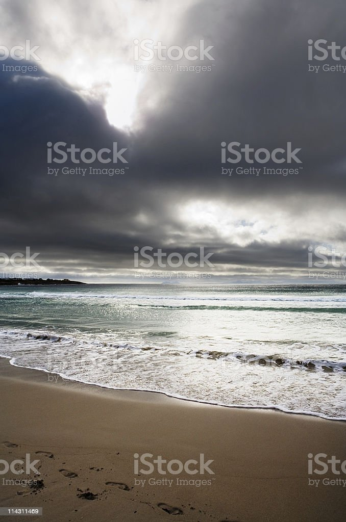 Storm brewing royalty-free stock photo