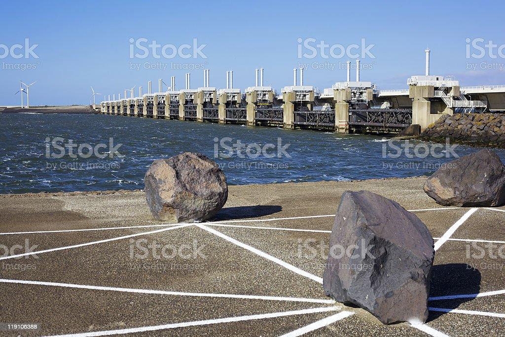 Storm Bridge stock photo