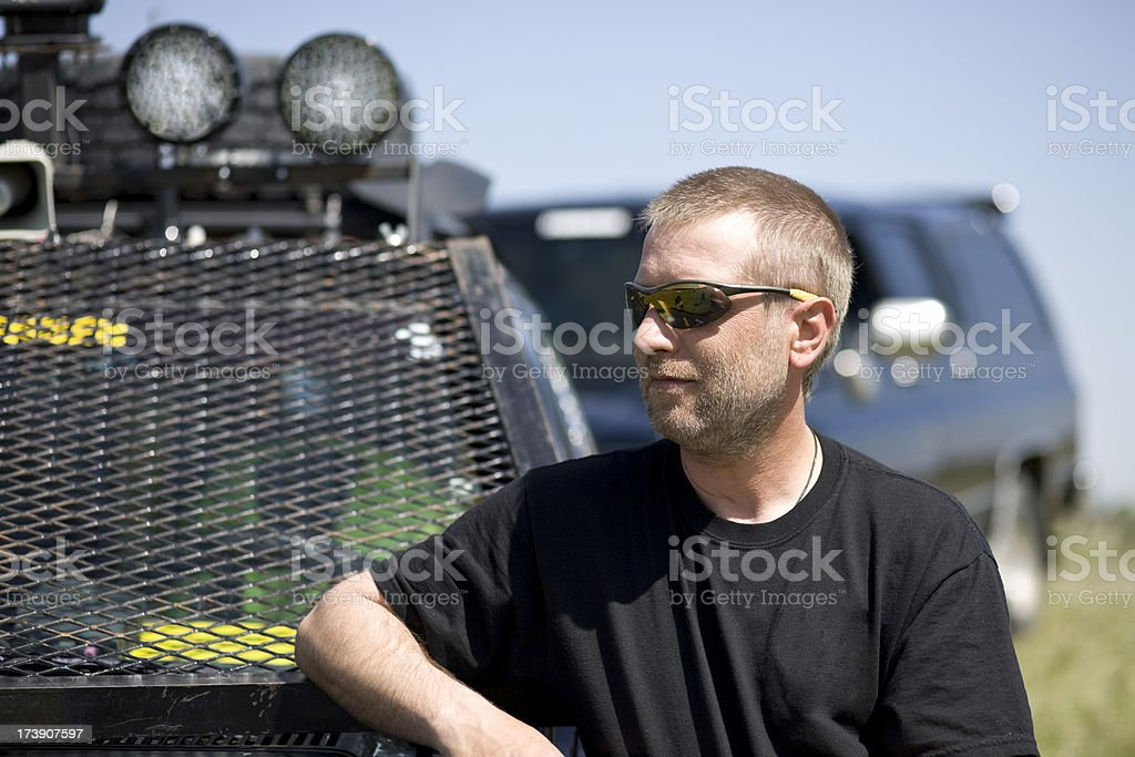 Storm Chaser Series stock photo