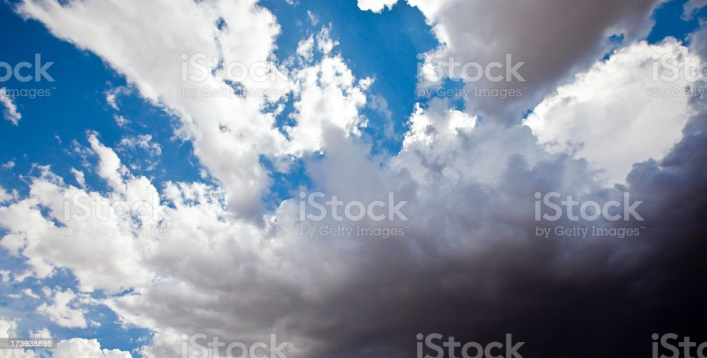 storm cloud approaches royalty-free stock photo