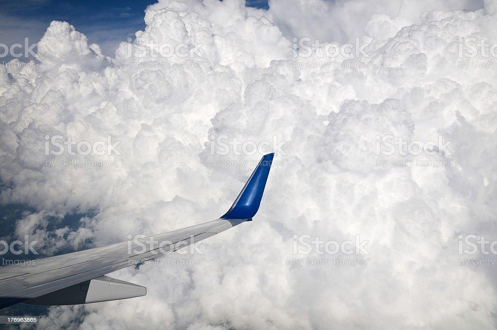 Storm Cloud Flight royalty-free stock photo