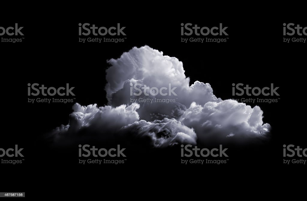 Storm Cloud stock photo