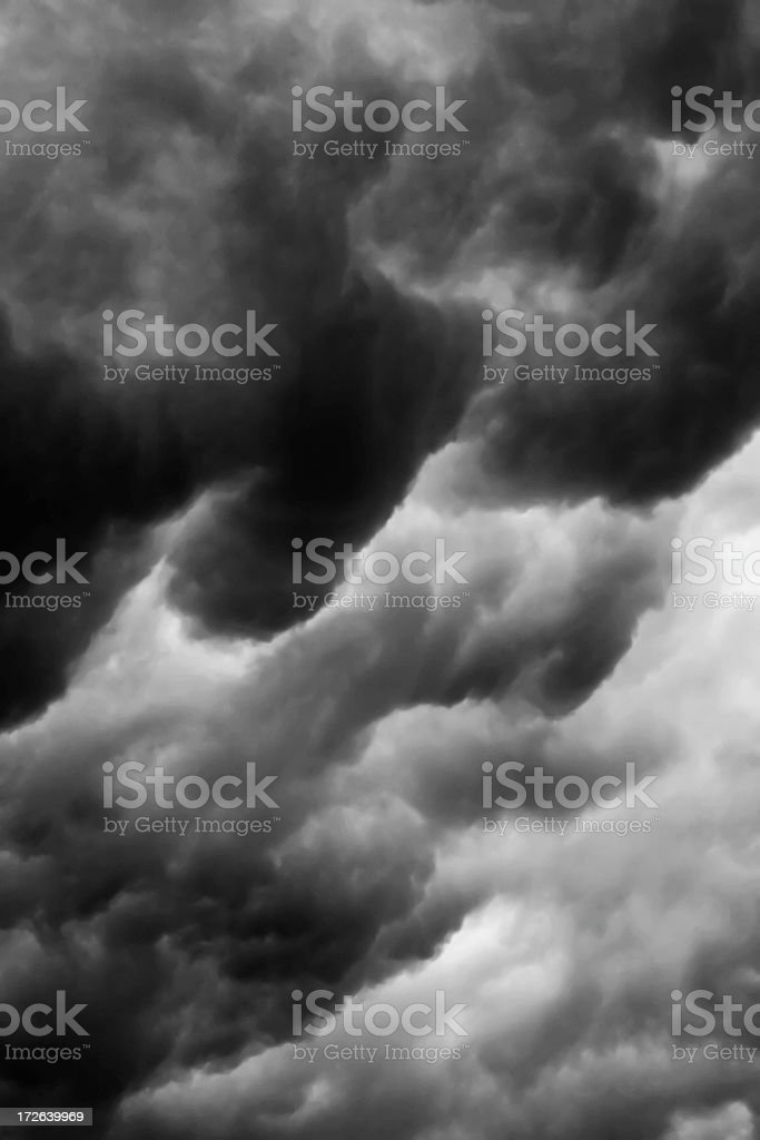 Storm Cloud Series #2 of 6 stock photo